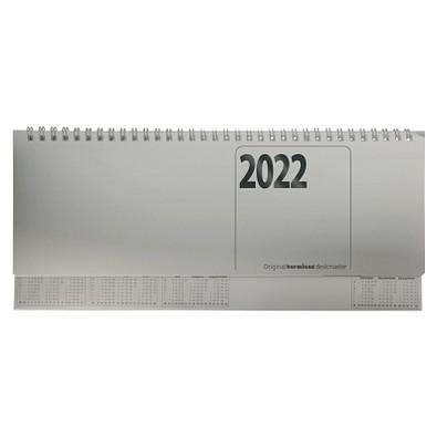 terminax® Querkalender Deskmaster 2022, silber
