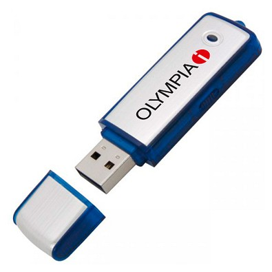 USB-Stick Save, 16 GB, blau
