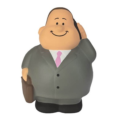 Herr Bert® Anti-Stress-Figuren Businessman Bert, grau