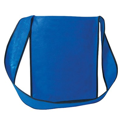 Joytex® Vlies-Umhänge-Dokumententasche, blau