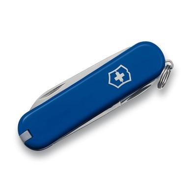 VICTORINOX Taschenmesser Rally, 9 Funktionen, blau