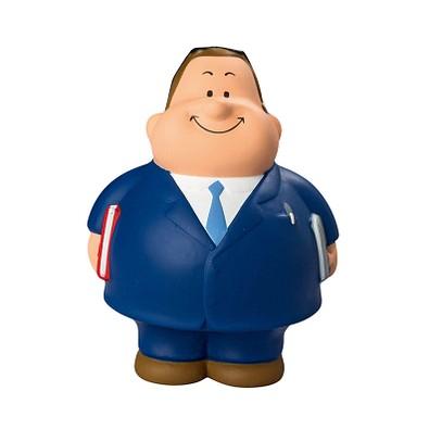 Herr Bert® Anti-Stress-Figuren Berater Bert, blau