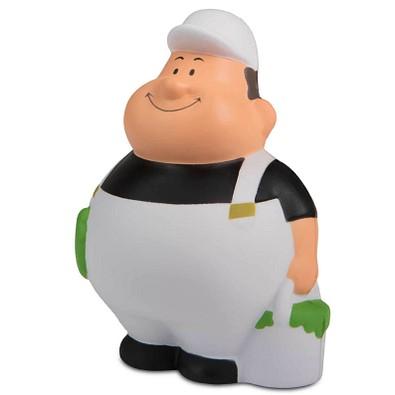 Herr Bert® Anti-Stress-Figuren Maler Bert mit Cap, schwarz/weiß