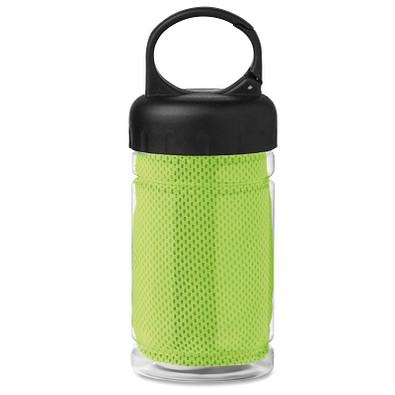 Erfrischungs-Handtuch in der Flasche, Limette