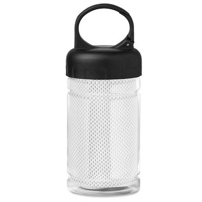 Erfrischungs-Handtuch in der Flasche, Weiß