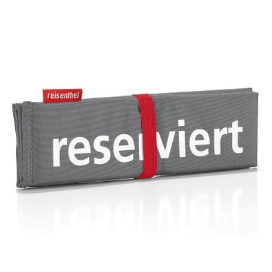 reisenthel® Sitzkissen seatpad reserviert, basalt