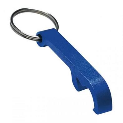 Schlüsselanhänger Kapselheber, blau