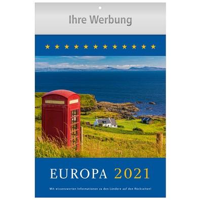 Bildkalender Europa 2021