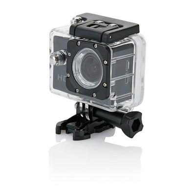 XD COLLECTION Action Kamera mit 11tlg. Zubehör, schwarz