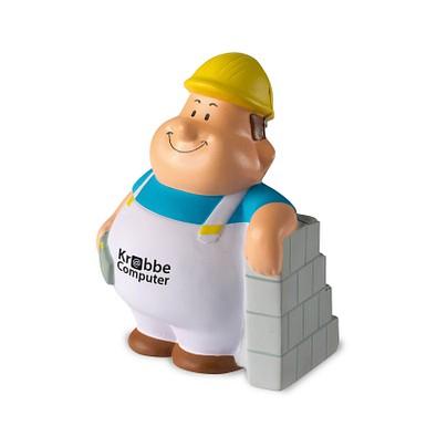 Herr Bert® Anti-Stress-Figuren Maurer Bert, weiß