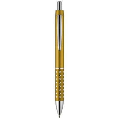 Bling Druckkugelschreiber, blaue Mine, gelb