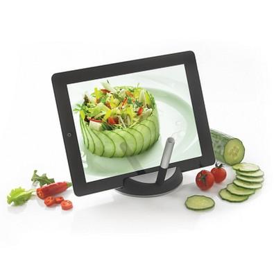 XD DESIGN Chef Tabletständer mit Touchpen, schwarz/silber
