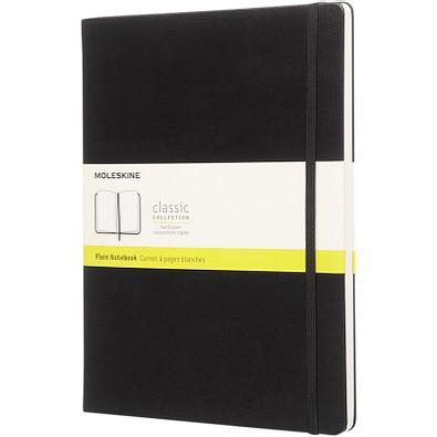 MOLESKINE® Notizbuch Classic Hardcover XL, blanko, schwarz