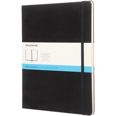 MOLESKINE® Notizbuch Classic Hardcover XL, gepunktet, schwarz