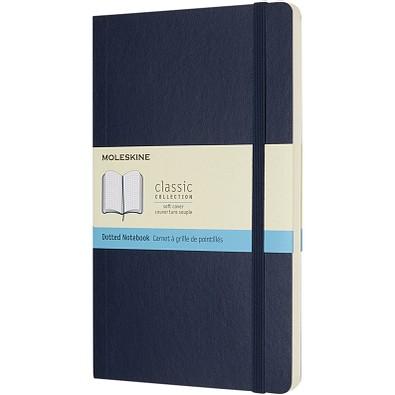 MOLESKINE® Notizbuch Classic Softcover L, gepunktet, saphir