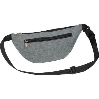 Gürteltasche aus Polyester, grau