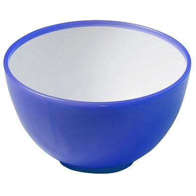 Müslischale 2 Colour glänzend, blau/weiß