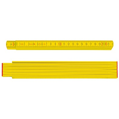 STABILA® Handwerkermaßstab, Serie 700, gelb