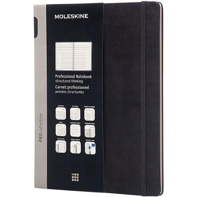 MOLESKINE® Notizbuch Pro Hardcover XL, schwarz