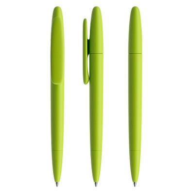 prodir® Drehkugelschreiber DS5 TMM Twist, blaue Mine, hellgrün