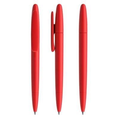 prodir® Drehkugelschreiber DS5 TMM Twist, blaue Mine, rot