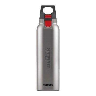 SIGG™ Edelstahl-Trinkflasche Hot Cold, 500 ml, Edelstahl gebürstet