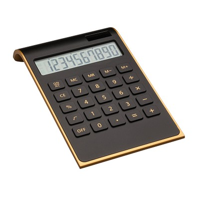reeves® Taschenrechner Valinda, schwarz/gold