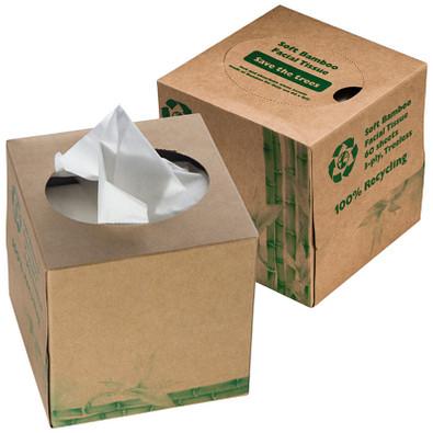 Taschentuchbox 3-lagig Alassio,braun