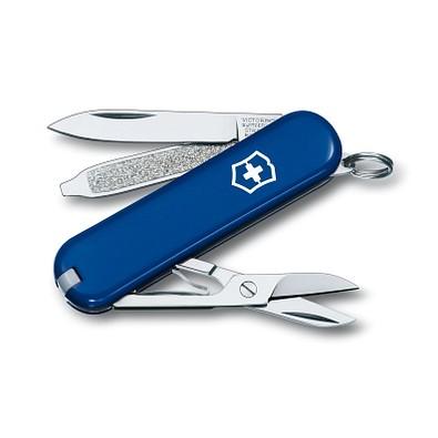 VICTORINOX Taschenmesser Classic SD, 7 Funktionen, blau