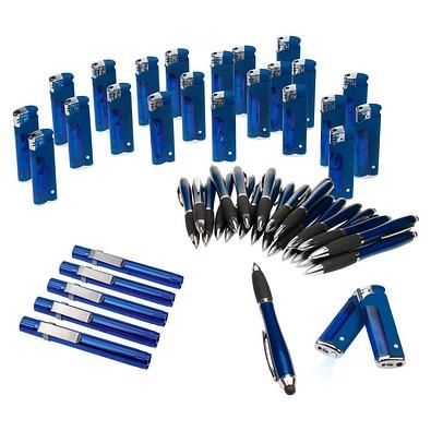 Werbe-Sparset, 310-tlg., inkl. Druck, blau
